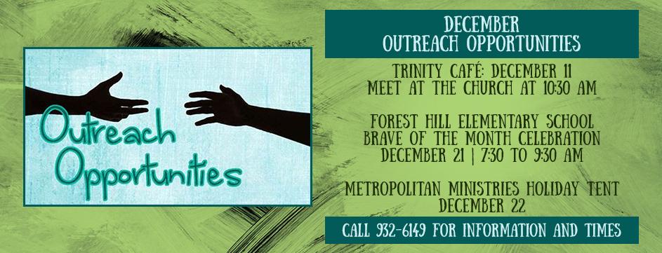 December Outreach Opportunities_Banner