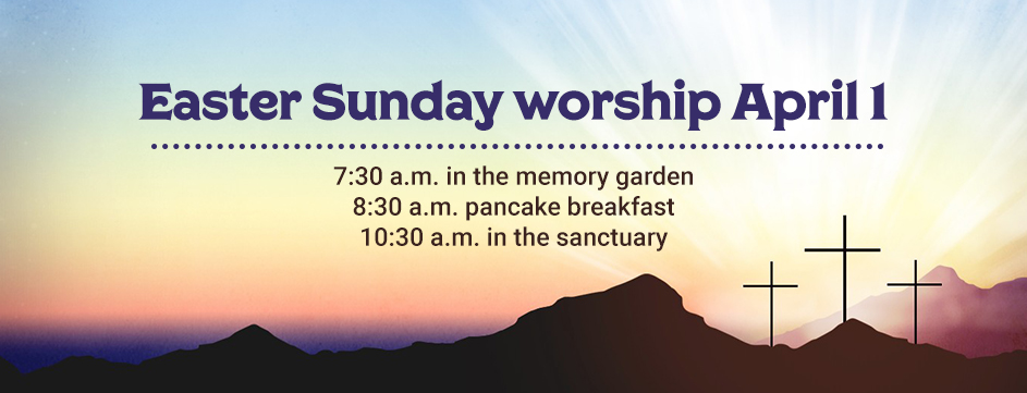 Easter Sunday Worship_Banner