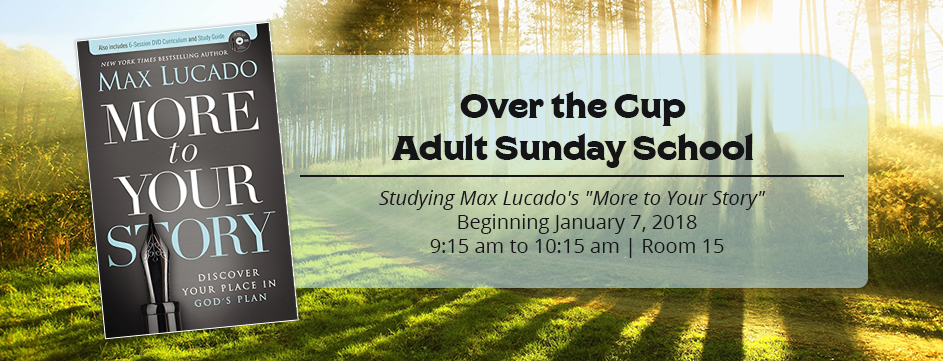 Over The Cup Adult Sunday School_Banner