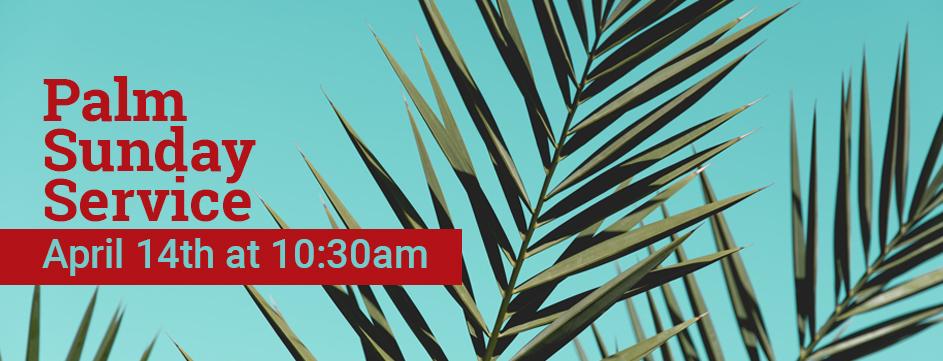 Palm Sunday Service_Banner