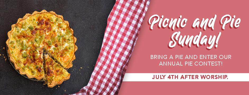 Picnic & Pie Sunday