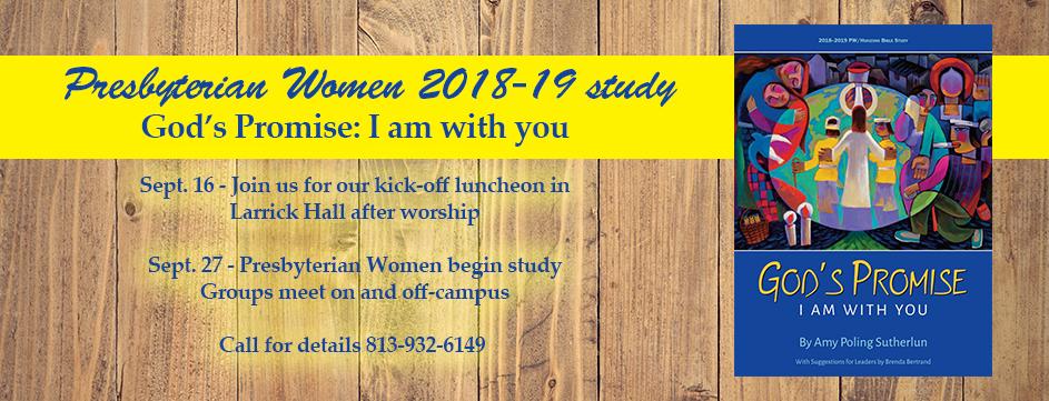 Presbyterian Women 2018-19 study_Banner