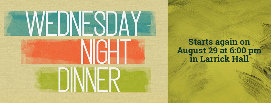 Wednesday Night Dinner_Banner