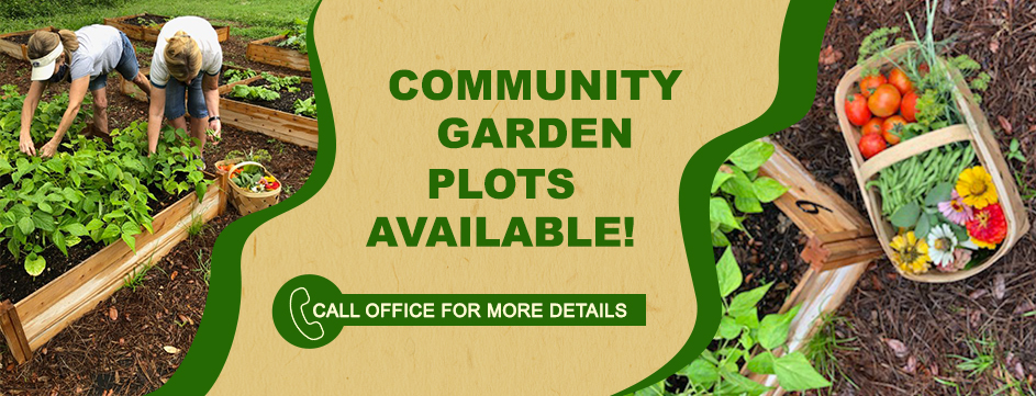 community garden available