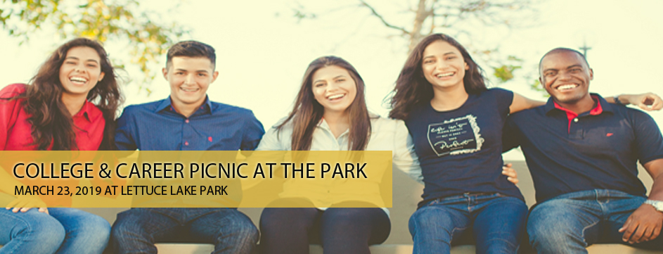 College & Career Picnic at the park